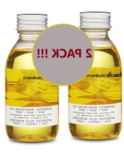 2 PACK Davines Authentic Face/Hair/Body Nourishing Oil, 4.73