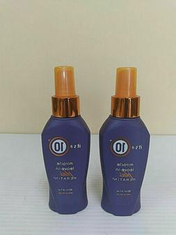 2 Pack Its a 10 by IT'S A 10 Miracle Leave-in Plus + Keratin