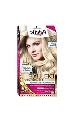 Palette Deluxe 218 Silver Blonde Permanent Hair Color
