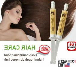 2pcs New Moisturizing Dry Damaged Maintenance Keratin Repair