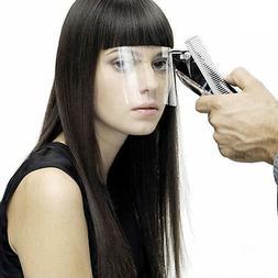 50 pcs Transparent Clear Face Mask Hair Cut Eye Protector Pa