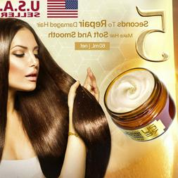 60ml Magical keratin Hair Treatment Mask 5 Seconds Repairs D