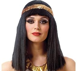 Amscan Gracious Gods & Goddess Egyptian Queen Wig Party Acce