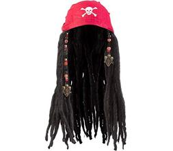 Amscan Notorious Pirate Party Bandana Wig with Dreads Access
