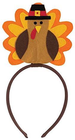 Amscan Thanksgiving Festive Turkey Headbopper Wearables Part