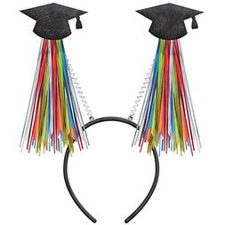 Amscan Top-notch Graduation Party Grad Head bopper with Tins