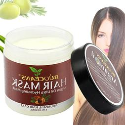 Argan Oil Hair Mask,100% ORGANIC Argan & Almond Oils, Jojoba