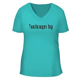 BH Cool Designs got Reparation? - Cute Women's V Neck Graphi