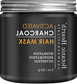 Botanic Hearth Charcoal Hair Mask - Deep Conditioning Hair T