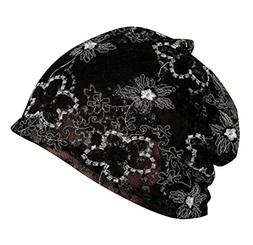 DRAGON SONIC Summer Lace Thin Section Hat Flower Hollow Styl