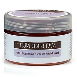 Nature Nut Hair Mask for Dry Colored & Damaged Hair  For a S