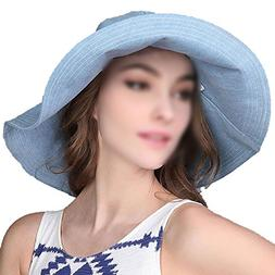 Outdoor Hat Lady Spring Summer Cotton Denim Travel Sun Hat S