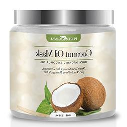 Pure Original Organic Coconut Oil Hair Mask, Natural Hair Ca