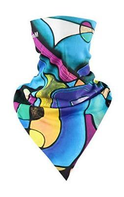 Riding Scarf Magic Triangular Scarf Cycling Accessory Mask A
