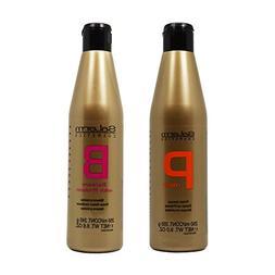 """Salerm Protein Shampoo & Balsam Conditioner 250ml Duo """"Set"""""""