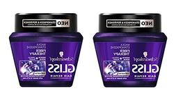 Schwarzkopf Gliss Fiber Therapy Mask with OMEGAPLEX 2er Pack