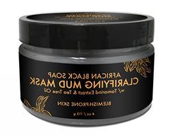 SheaMoisture African Black Soap Problem Skin Facial Mask, 4