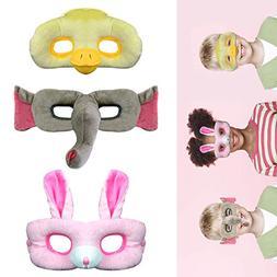 Star-TOP Cartoon mask Cute Animal Plush Cloth mask,Masquerad