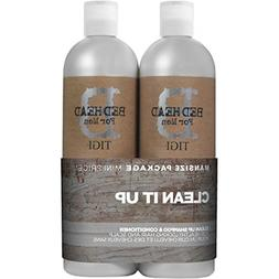 Tigi B For Men Clean Up Tween Duo Pack 2x750ml
