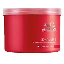 WELLA Brilliance - Hair Mask for Fine Hair 500 ml by Wella