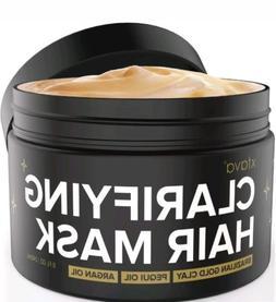 Xtava Clarifying Clay Hair Mask with Argan Oil - 8 Fl.Oz Hai
