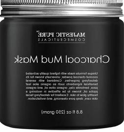 Majestic Pure Activated Charcoal Mud FACE, HAIR, & BODY mask