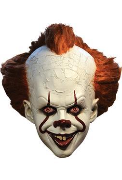 Adult Men's DELUXE Pennywise IT Killer Clown Halloween Costu