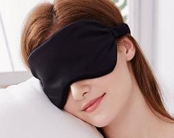 YUNS Advanced 19 Momme Mulberry Silk Sleep Mask, Both Sides