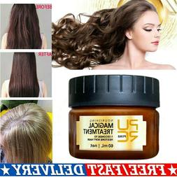 Advanced Molecular Hair Roots Treatment Collagen Keratin Rep