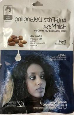 Anti-Frizz detangling Hair Mask 2 step Lindsay Home Aestheti