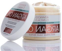 Advanced Clinicals Argan Oil Anti-Frizz Hair Repair Mask 12