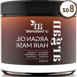 ArtNaturals Argan Oil Hair Mask  Deep Conditioner Organic Jo