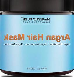 Majestic Pure Argan Oil Hair Mask, Hydrating & Restorative H