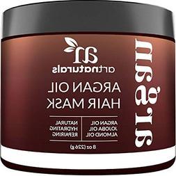 Art Naturals Argan Oil Hair Mask Deep Conditioner 8 Oz 100%