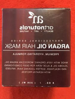 Art Naturals Hair Mask 8oz 100% Organic Moroccan Argan Oil J
