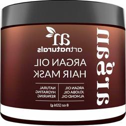Argan Oil Deep Conditioning Hair Mask Treatment 100% Organic
