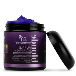 ArtNaturals Purple Hair Mask for Blonde, Silver & Platinum H