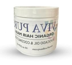 Best Coconut Oil Hair Mask - Dry, Damaged Hair, Hair Growth,