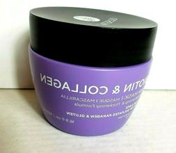 LUSETA Biotin & Collagen Hair Mask - Color Safe 16.9 fl.oz f