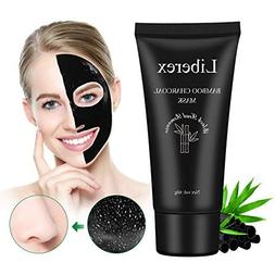Blackhead Remover Mask - Liberex Charcoal Peel Off Black Mas