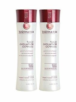 Keranique Color Boost Keratin Scalp Revitalizing Shampoo, 8