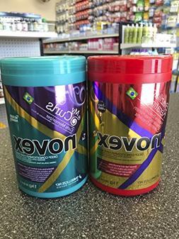Novex Brazilian Keratin Deep Treatment, Novex Memorizing Cur