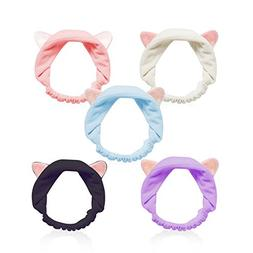 Cat Ears Headbands, Teenitor Elastic Women's Lovely Etti Hai