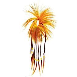 Amscan Cinco De Mayo Fiesta Party Yellow Orange Diva Hair Tw
