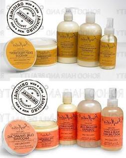 shea moisture Coconut & Hibiscus and Raw Shea Butter hair pr