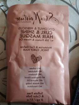 Coconut & Hibiscus Curl and Shine Hair Masque 2 oz.