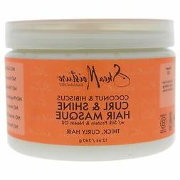 Shea Moisture Coconut & Hibiscus Hair Masque, 12 ounces