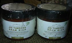coconut oil hair mask lot of 2