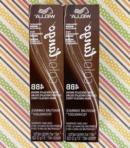 Wella Color Tango 2-PK Permanente Masque Hair Color 4BB Dark