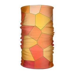 Cool Orange Line Unisex Fashion Quick-Drying Microfiber Head
